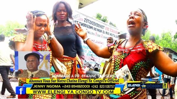 Exclusif: Petite Soeur Ya Etienne Tshiseke Awuti Mbuji Mayi Pleure Boyoka Discours Ndenge - YouTube