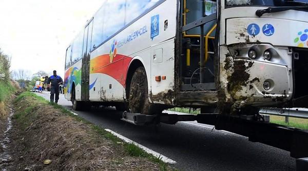 Plusieurs blessés dans un accident de car ce matin au sud-est de Toulouse