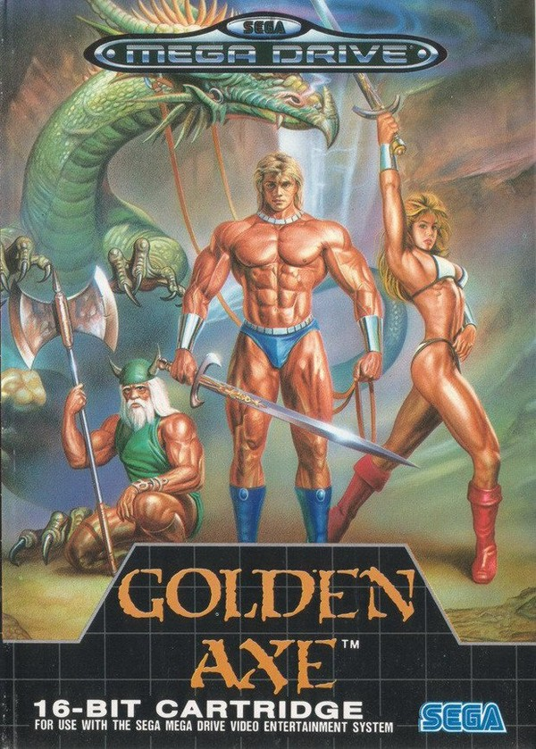 Golden Axe - 1989 - MegaDrive