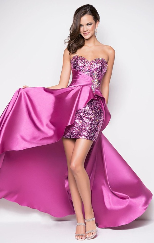 Sheath / Column Sleeveless Knee-length Paillette Prom Dress / Evening Dress
