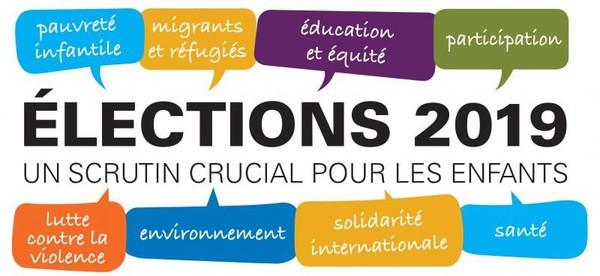 Élections du 26 mai 2019. Pour une politique de l'enfance ambitieuse - UNICEF