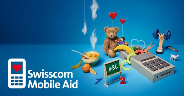 Swisscom Mobile Aid: donner son vieux portable au lieu de le jeter