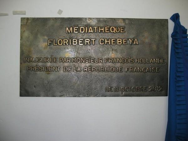 A Kinshasa, François Hollande inaugure une plaque à la mémoire de Floribert Chebeya