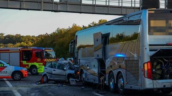 Luxembourg : trois jeunes lorrains tués dans une collision avec un bus sur l'A3