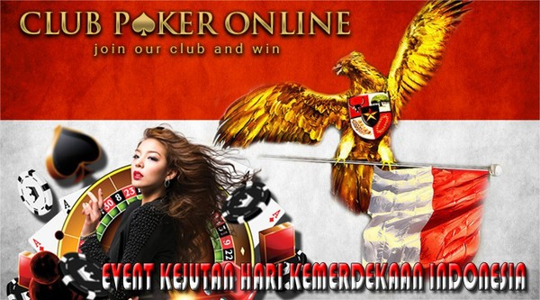 Event Kejutan Poker Online Indonesia Merdeka 17 Agustus 2017