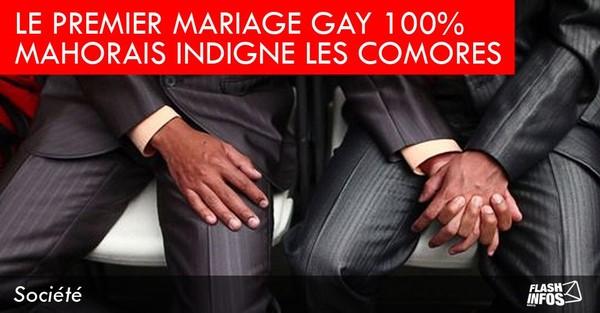 Le premier mariage gay 100 % mahorais indigne les Comores