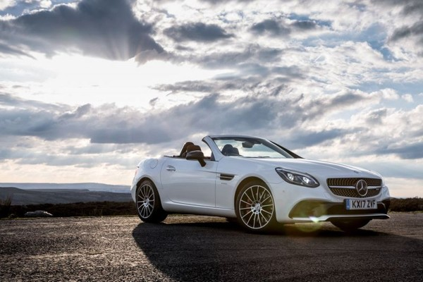 The 2017 twin-turbo V6-powered Mercedes SLC test-drive