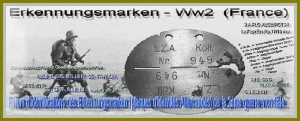 Erkennungsmarken-Ww2-France