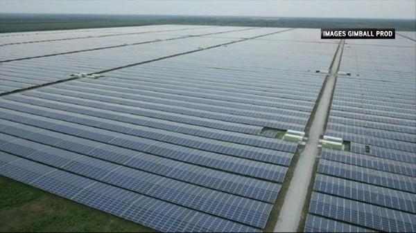 La France inaugure la plus grande centrale solaire d'Europe