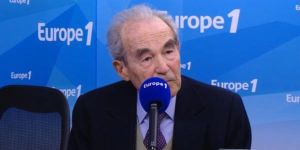 """Badinter et les réfugiés : """"pas un acte de générosité, une obligation"""""""