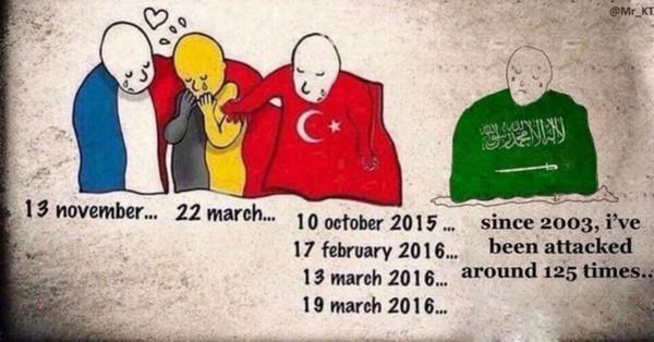 Bruxelles: les Saoudiens et les Turcs dénoncent une différence de traitement en détournant Plantu