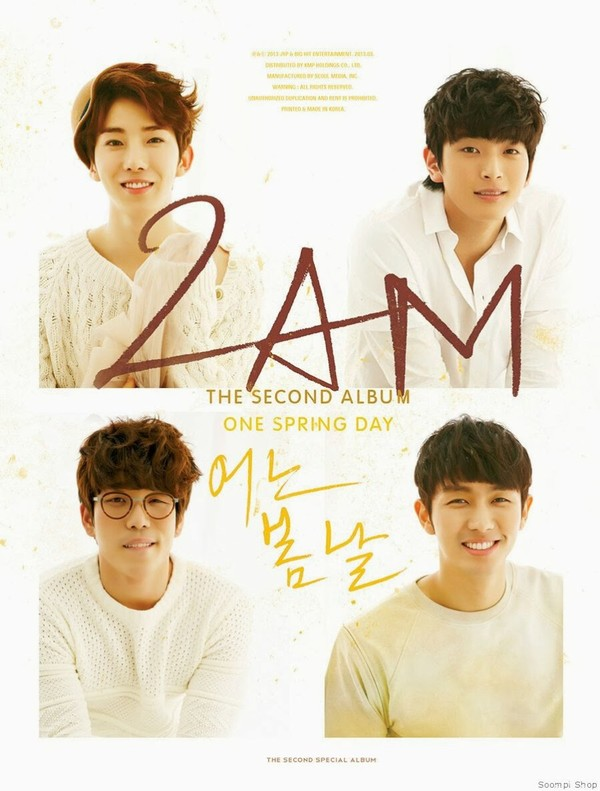 music : 2AM Album One Spring Day Vol. 2 2013 - HOME IPPODA