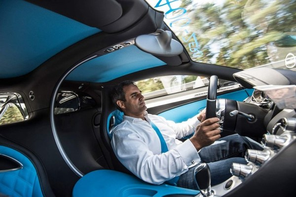 Bugatti Chiron beats any records this time!
