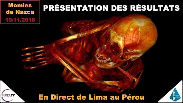 Momies de Nasca : Résultats Alien Project 2018 - Nuréa TV