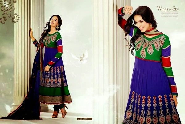 latest designs of indian anarkali frocks party wear frocks designs