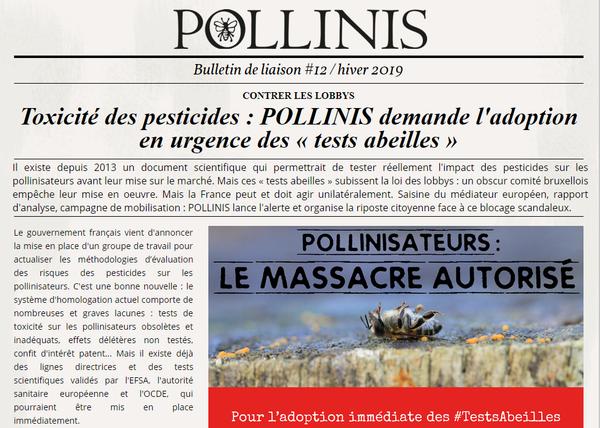Abeilles et pesticides : dernières nouvelles du combat !