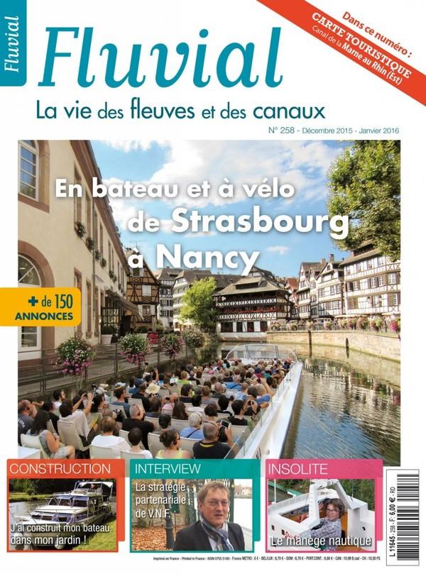 Revue Fluvial vient de paraître Fluvial 258 - Le numéro de décembre/janvier est en kiosque