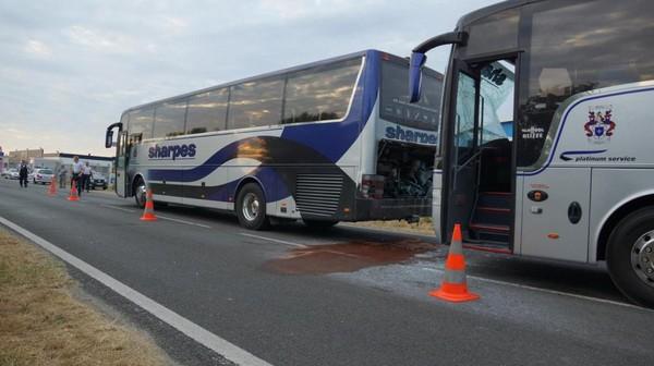 Berck - Deux autocars se télescopent: 63 enfants mis à l'abri au centre de secours