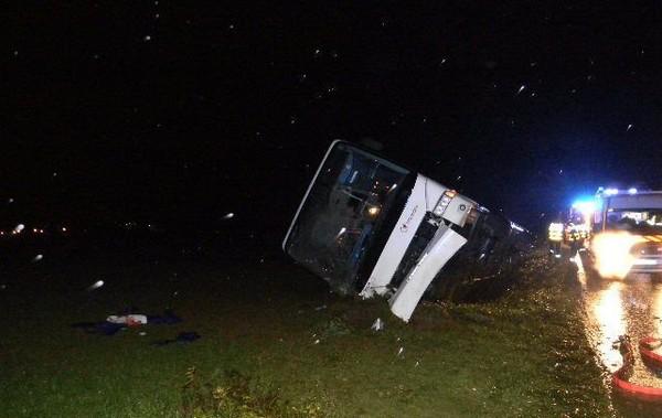 Breuil-Bois-Robert : 16 blessés légers dans l'accident de bus