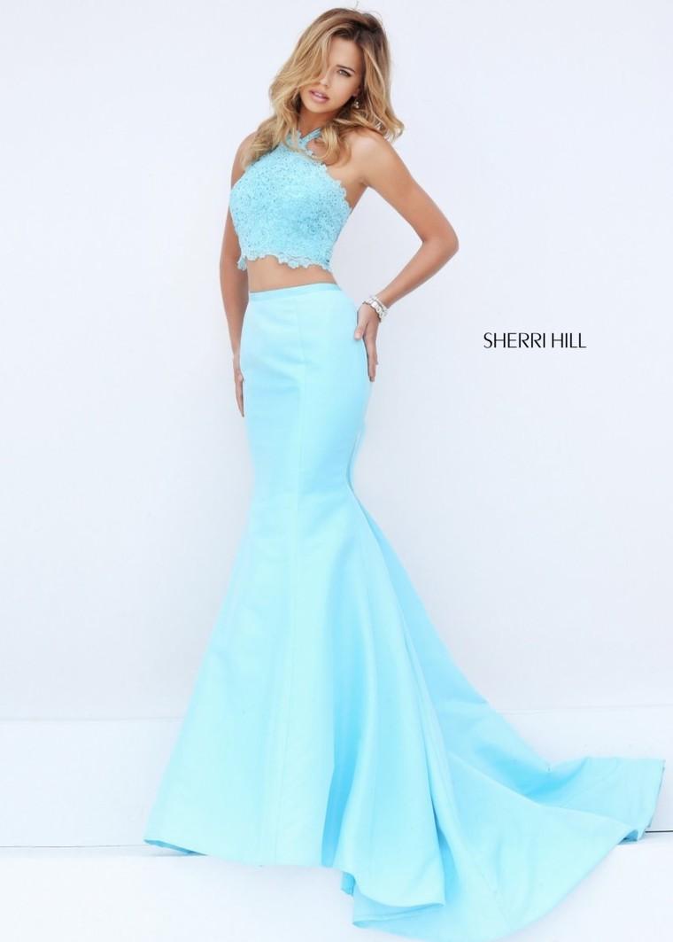 Sherri Hill 50419 Sleeveless 2 Piece Fitted Mermaid Dress For ...