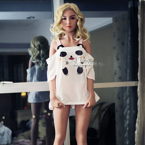 156cm 5.12ft Bonnie Silicone Sex Angel Doll with Metal Skeleton 3 Entries Lifelike Sex Toy