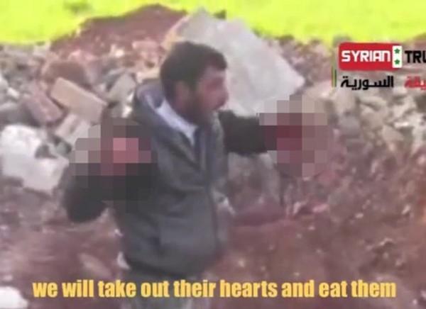 Syrie : le dirigeant d'une brigade rebelle mange le coeur d'un soldat