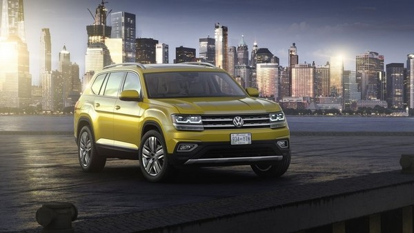 VW reveals its biggest crossover ever built-Volkswagen Atlas