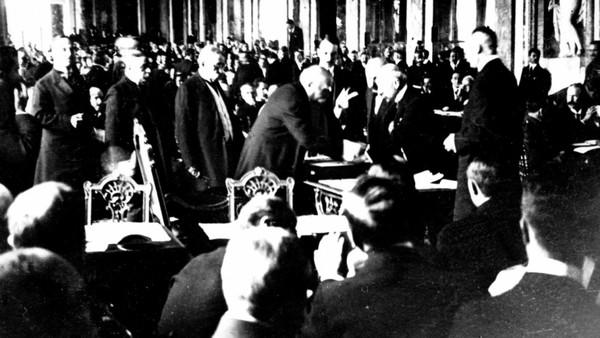 La signature de la paix à la fin de la Première guerre mondiale, le 28 juin 1919, a changé la donne pour l'Afrique