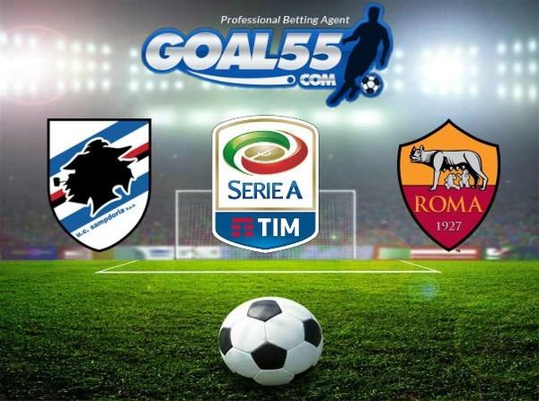 Prediksi Skor Sampdoria VS Roma 10 September 2017