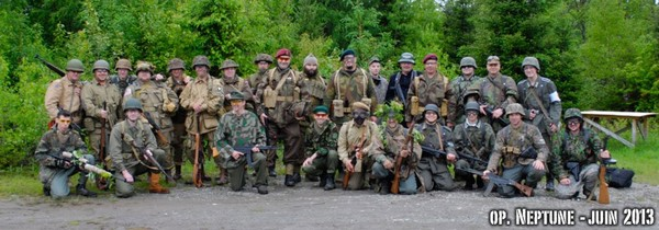 ACCEUIL- WW2 Quebec - Airsoft re-enactment