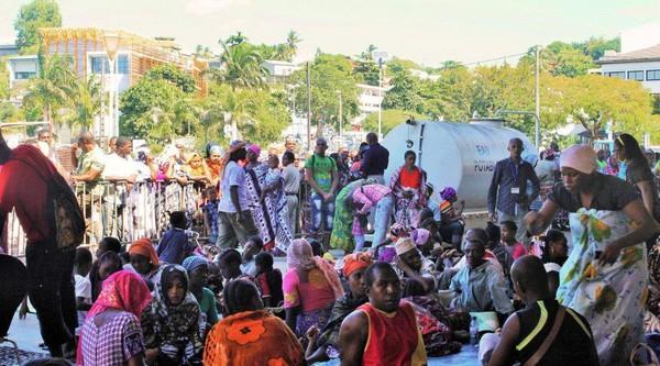 Mayotte: 130 migrants «décasés» toujours en hébergement d'urgence