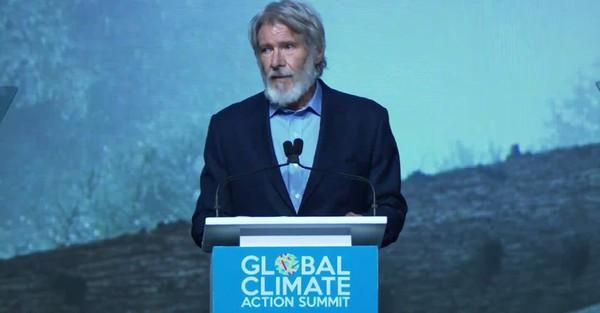 Sommet pour le climat de San Francisco : le vibrant discours prononcé par Harrison Ford