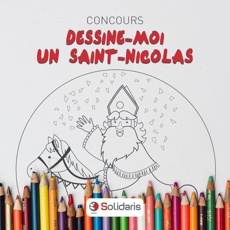 Solidaris - Saint Nicolas ne portait pas de croix sur sa mitre comme prétendent des populistes belges - LNO