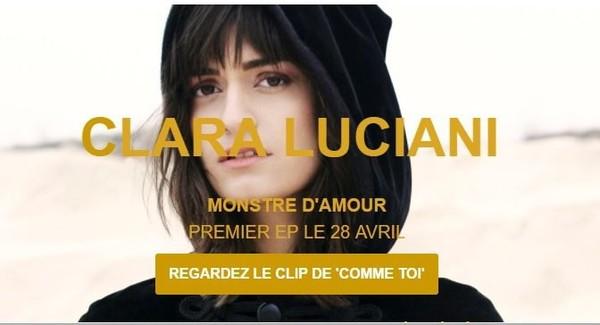 CLARA LUCIANI dévoile le clip de Comme Toi! | Muzikomag