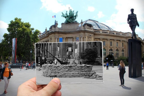 Scenery Pictures of Old and New Images of Paris Carried to History To Life - NICE PLACE TO VISIT