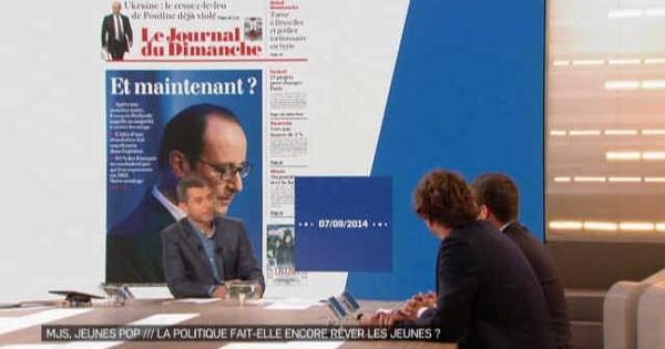 La Nouvelle Edition du 08/09/14 - Part. 1 La politique fait-elle encore rêver les jeunes ?
