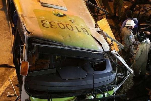 Au moins 15 morts dans l'accident d'un car en Brésil - SWI swissinfo.ch
