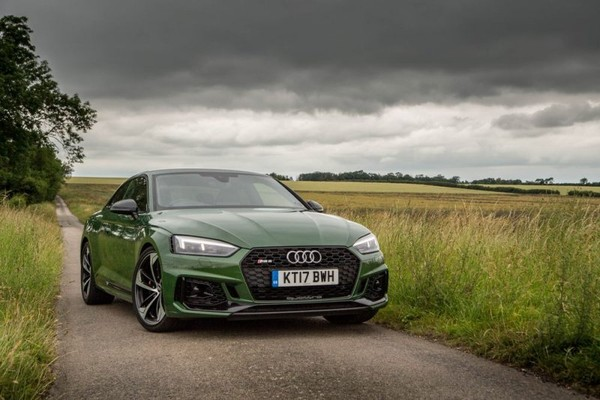 Audi's new RS5 comes with a twin-turbo V6 co-developed by Porsche