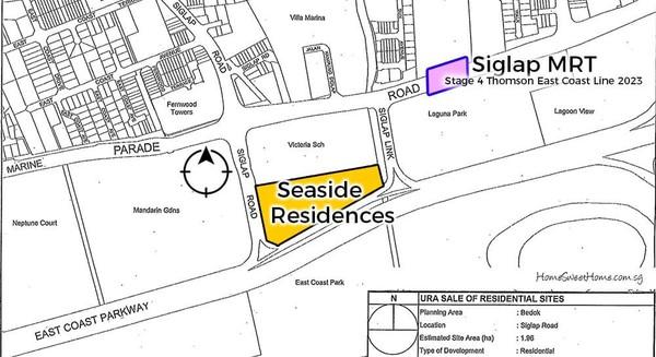 Seaside Residences @ Siglap | 1 Bedder Price $7xxK | 8100 8444