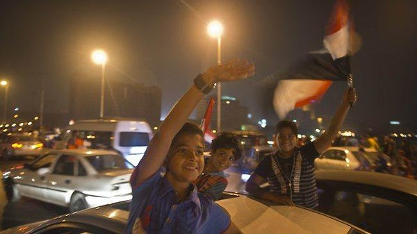 A new dawn for Egyptians