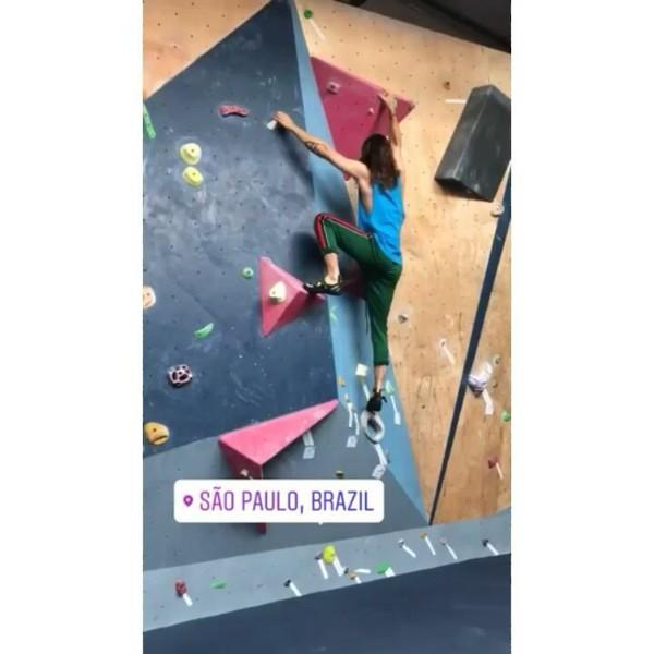 "30 STM and Jared Leto ❤❤ on Instagram: ""Jared on Ig stories #JaredLeto #Climbing #SaoPaulo #Brasil"""