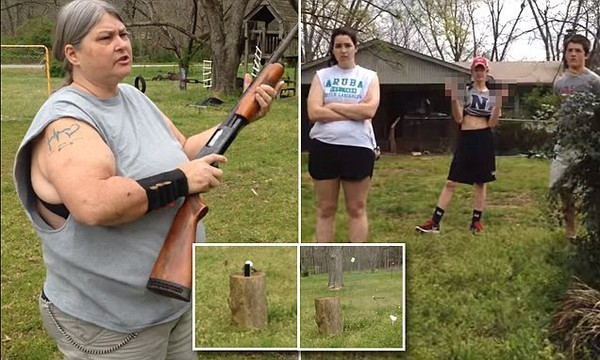 Southern mom shoots then hammers her 'disobedient' children's iPhones