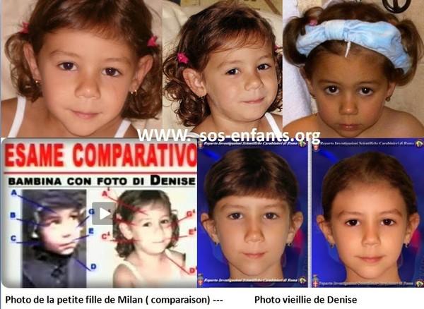 Sos-enfants-N'oublions pas Denise Pipitone ( RELANCE) - Disparus depuis trop longtemps - Les nouvelles