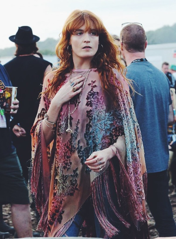 The Florence + the Machine Fan Club | The Queen of Peace, aka Florence Welch, gracing...