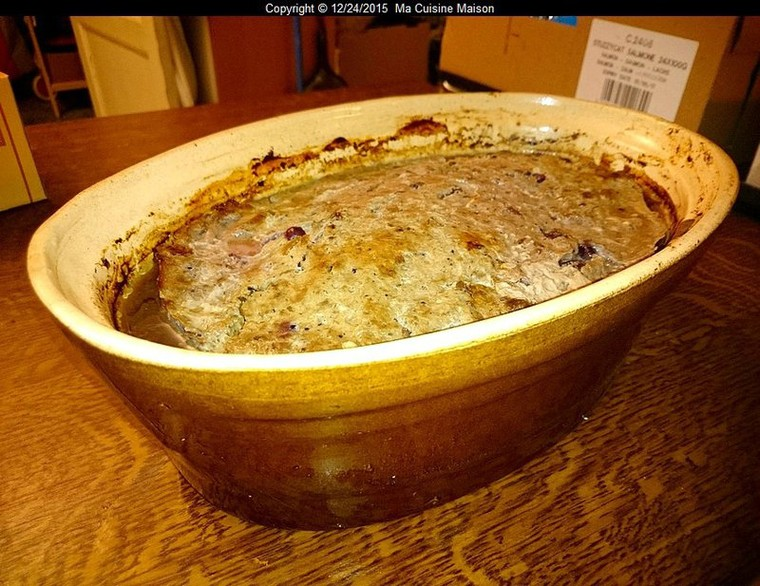 TERRINE DE CHEVREUIL FORESTIERE AU VERJUS (Recette maison) - Ma Cuisine Maison