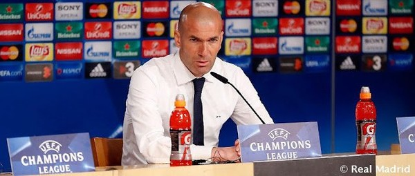 """Real Madrid: Zidane : """"Tous les joueurs ont donné leur maximum"""""""