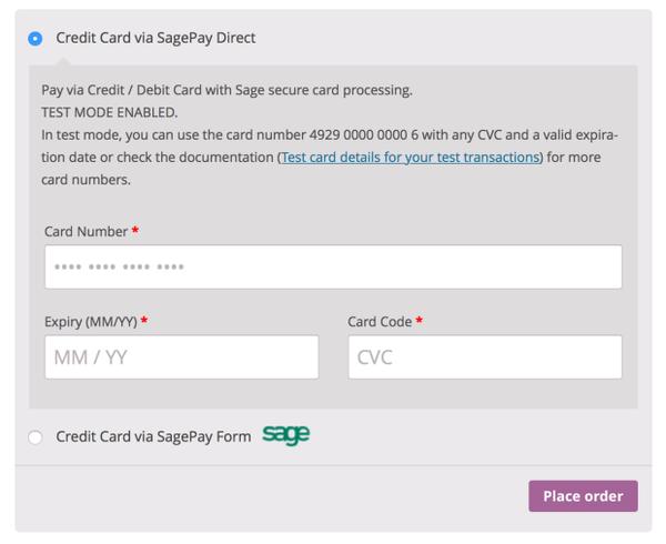 WooCommerce SagePay Form Integration 3.5.1 Extension - Get Lot