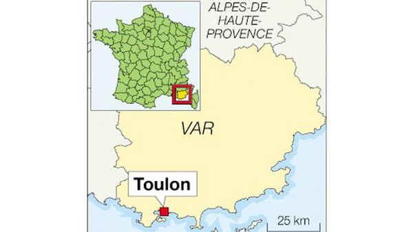 [urgent] - Toulon : Accident de car scolaire neuf personnes, dont sept lycéens blessés