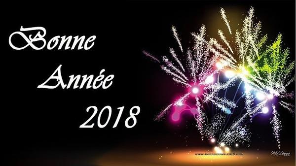 Bonne année 2018 - Gif Images,cartes,messages,vœux,vidéos