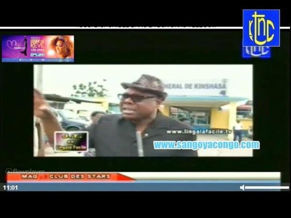 Journal télévisé en Lingala Facile du 06 juillet 2014 avec impact et idéologie